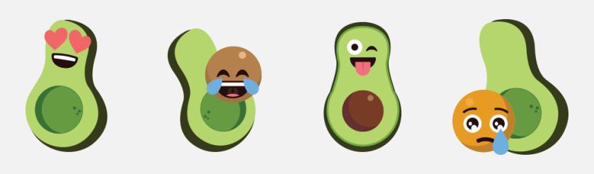 Holy Guacamole! Avocado Emoji!