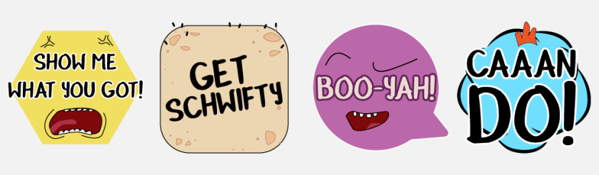 schwifty-sticker-pack